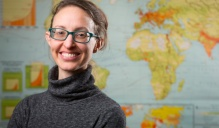 UB geography researcher Abigail Cooke.