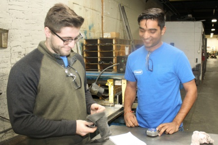 Students learn facets of the manufacturing industry while contributing their skills to Ttarp Co.