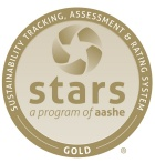Graphic of the STARS Gold Rating seal.