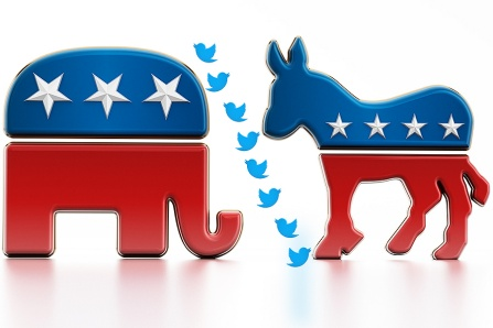 Twitter trolls polarize opinions along political affiliations.