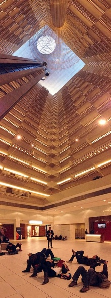 Architecture Students at Hyatt Regency as part of architrek