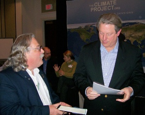 Fred Stoss and Al Gore