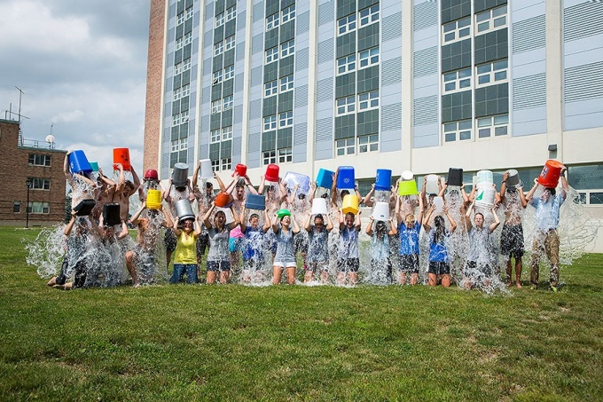 DPT does the Ice Bucket Challenge