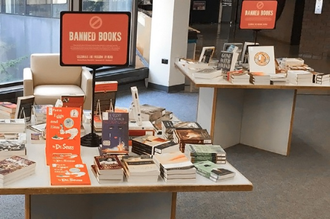 Tables of banned books