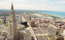 Terminal Tower in Cleveland, OH.