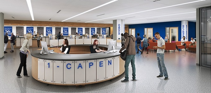 Rendering of 1Capen viewed from inside