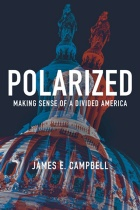 "Book cover of ""Polarized: Making Sense of a Divided America."""