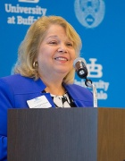 Virginia Horvath, president, SUNY Fredonia