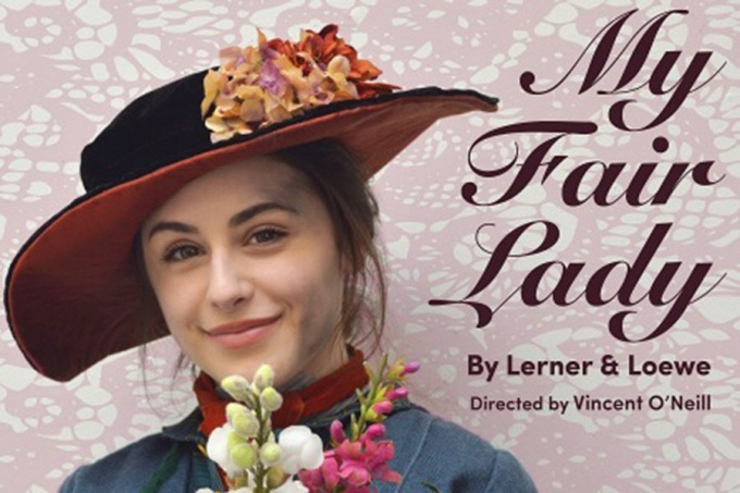 "Cropped version of the ""My Fair Lady"" poster"