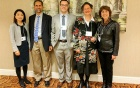 Tarun Singh and other recipients of NAGS awards during NAGS' annual meeting in New York City.