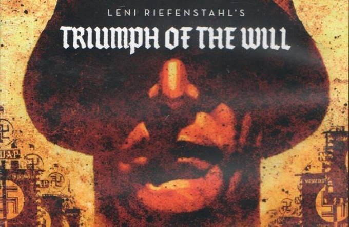 "Movie poster for Leni Riefenstahl's ""Triumph of the Will."""