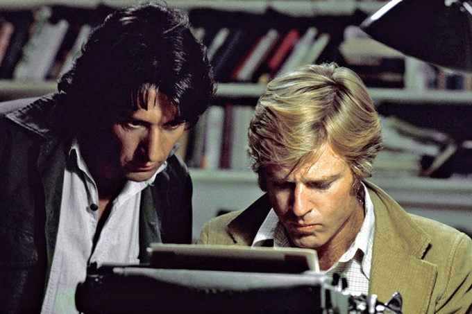 "Film still from ""All The President's Men,"" 1976, directed by Alan J. Pakula"