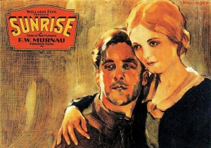 "F.W. Murnau""s 1927 ""Sunrise"" movie poster"