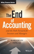 book cover from The End of Accounting