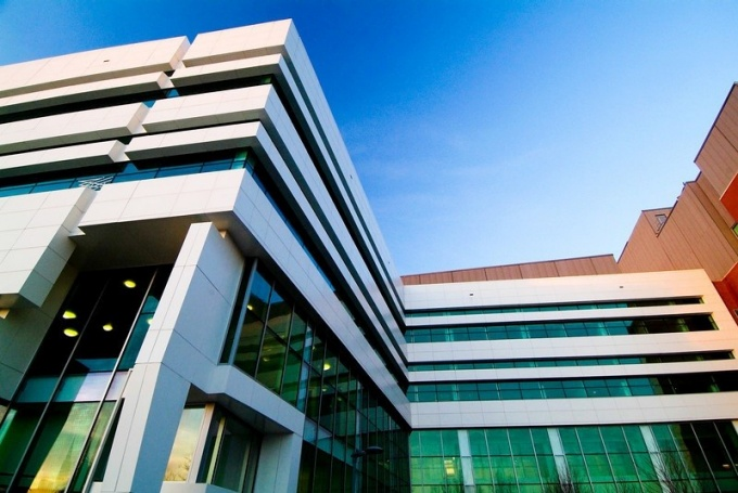 exterior of UB's NYS Center of Excellence in bioinformatics and life sciences