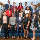 Group photo of the 2018 Rangel Scholars.