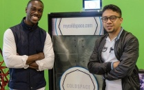 ColdSpace co-founders and UB alumni Elijah Tyson and Abid Alam.