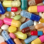 Pile of colorful pills and capsules
