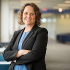 Portrait of Suzanne Rosenblith, dean of the Graduate School of Education.