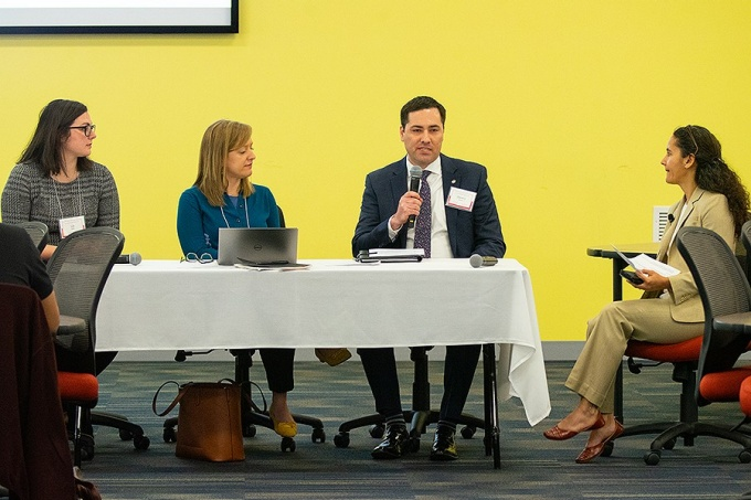 Three panelists discuss the housing crisis in Buffalo, NY.