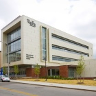 Exterior of UB's Educational Opportunity Center Gateway building.