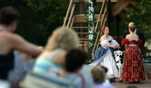 Actors performing at Shakespeare in Delaware Park