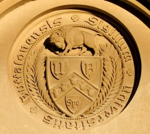 UB Seal on Crosby Hall.