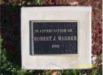 Recognition or memorial plaque.