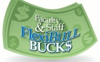 Flexibull bucks logo.