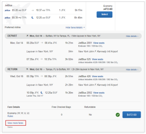 Figure 4 of view more flight fares.