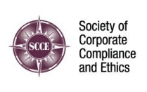 logo for Society of Corporate Compliance and Ethics.