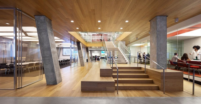Gensler Architecture/Design building interior.