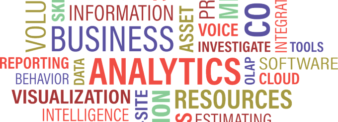 Business Analytics Word Cloud.