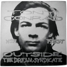 "The cover of the classic 1973 drone music album ""Outside the Dream Syndicate,"" a collaboration between Tony Conrad and German art-rock collective Faust."