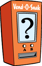 Illustration of a vending machine