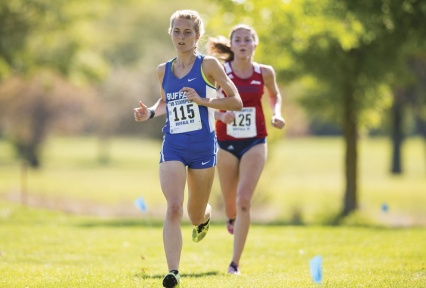 Cross-country runner Stephanie Ward hopes to qualify for the NCAA championships this year.