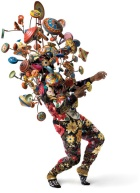 "Nick Cave, ""Soundsuit 2008,"" mixed media including embroidery, fabric, vintage toys."