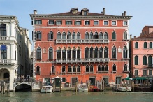Palazzo Bembo, where the UB exhibit is housed.
