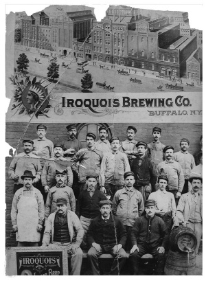 The brew crew at Iroquois.