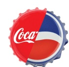 Pepsi and coke bottle cap