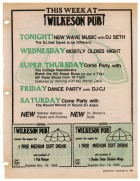 A week of activities at Wilkeson Pub