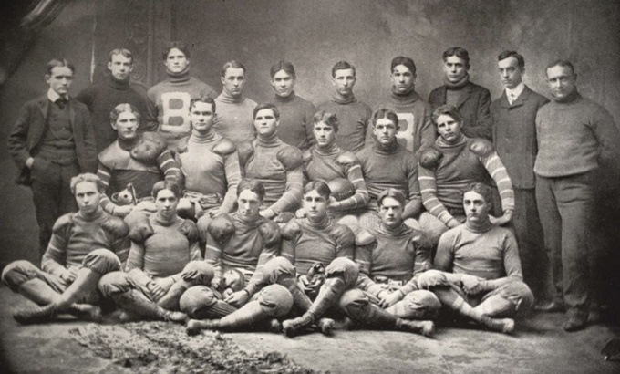 UB Varsity Football team, 1901-1902 season.
