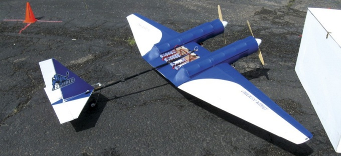 UB's entry in AIAA's Design/Build/Fly competition