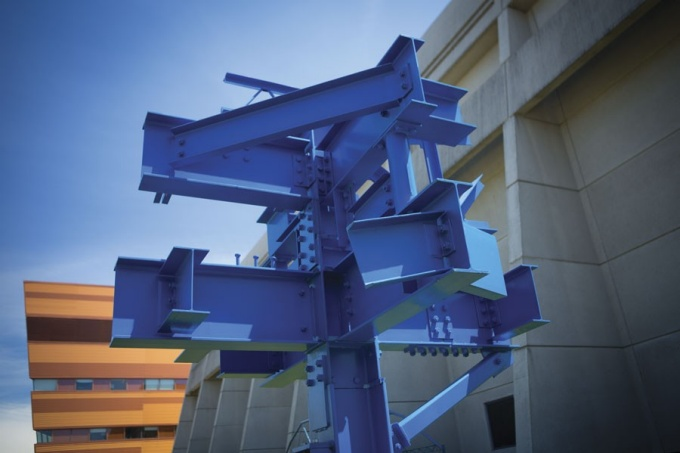 Sculpture, Ketter Hall on the North Campus
