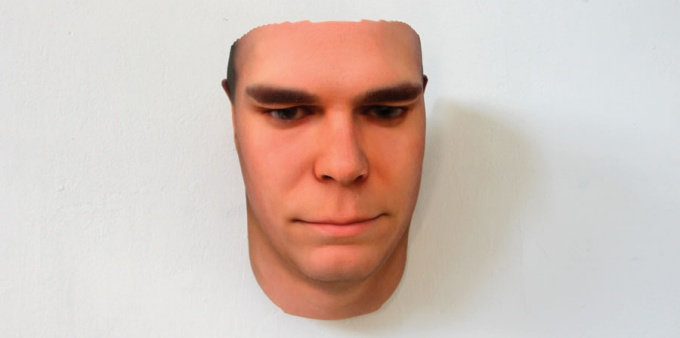 Portrait generated through genetic data