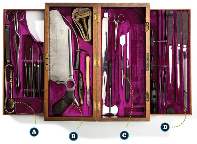 UB's collection of vintage medical instruments