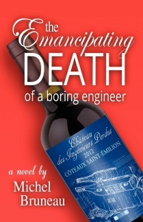 Book cover of The Emancipating Death of a Boring Engineer