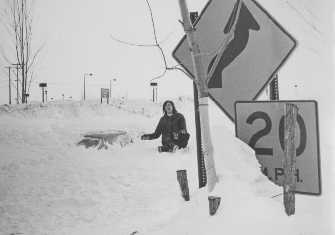 Photo of Blizzard of '77