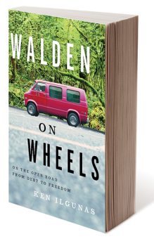 Book jacket of Walden on Wheels.