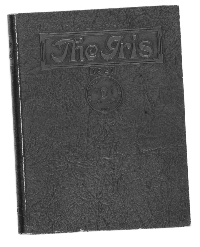 1921 Iris yearbook
